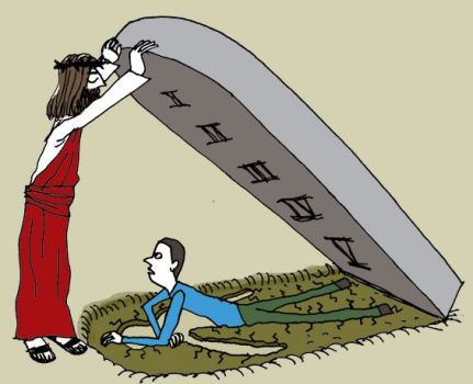 Jesus law cartoon